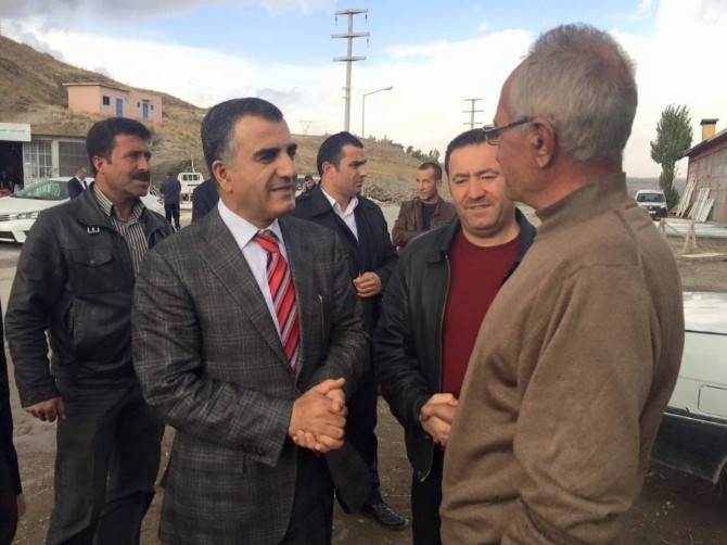 Peker, Ahlat'taki Sanayi Esnafını Ziyaret Etti