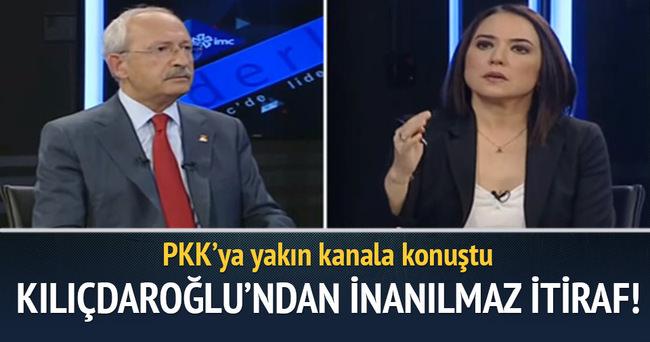 Kılıçdaroğlu'ndan inanılmaz itiraf