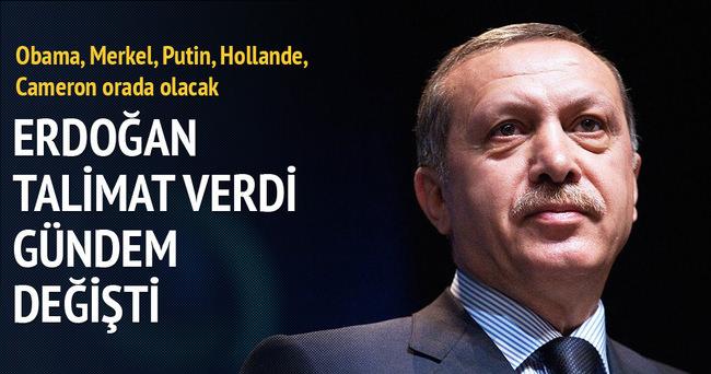 Erdoğan talimatı verdi G20 gündemi değişti!