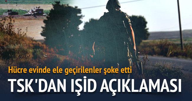 TSK'dan IŞİD açıklaması