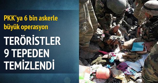 TSK'dan PKK'ya 6 bin askerle büyük operasyon