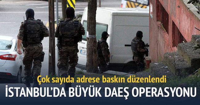İstanbul'da DAEŞ'e büyük operasyon!
