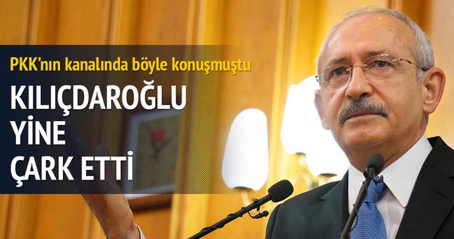 Kılıçdaroğlu yine çark etti