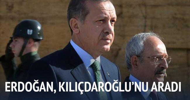 Cumhurbaşkanı Erdoğan Kılıçdaroğlu'nu aradı