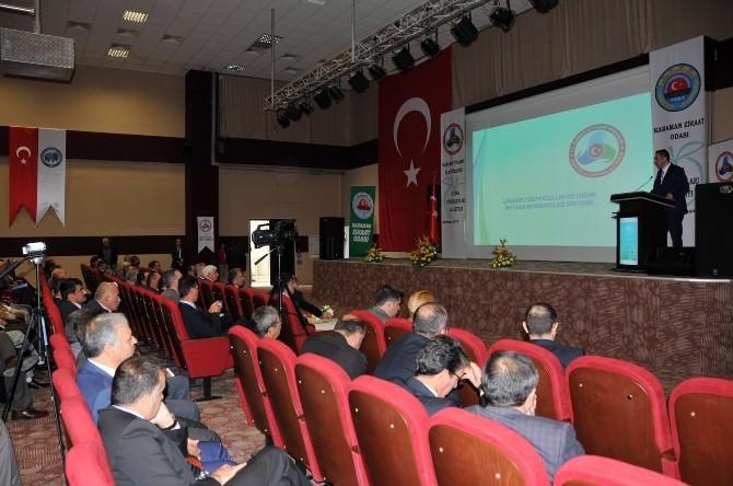 Karaman'da Elma Standartları Çalıştayı Düzenlendi