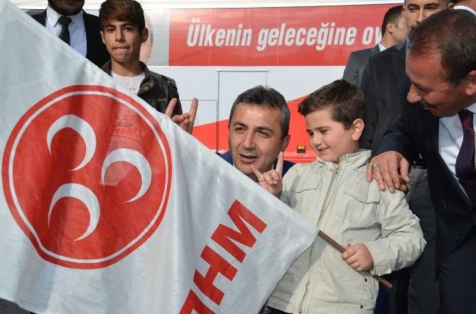 MHP Tosya'da Açık Alan Mitingi Düzenledi