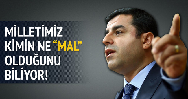 Yalçın Akdoğan'dan Demirtaş'a 'mal' cevabı!