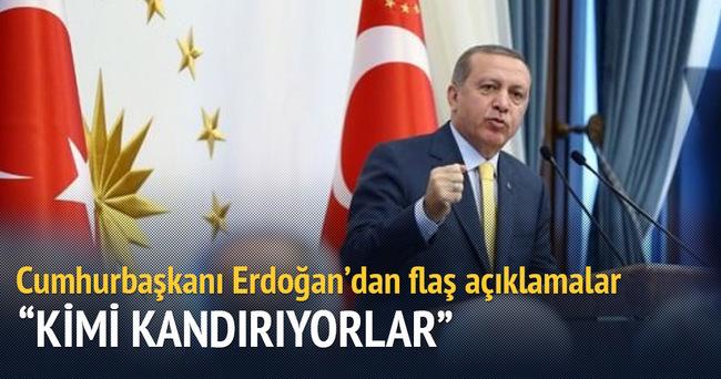 Cumhurbaşkanı Erdoğan: Bunların barışla falan alakası yok