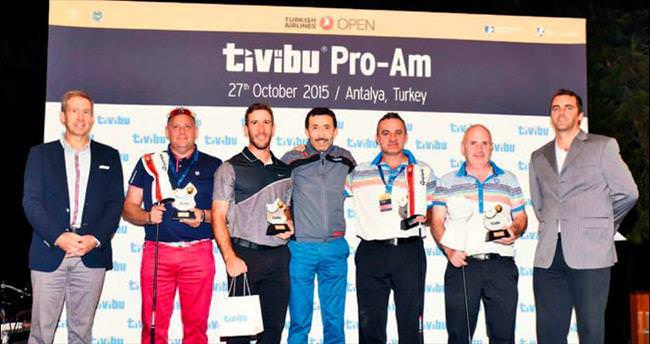 Avrupa'nın en iyi golfçüleri Antalya'da yarıştı