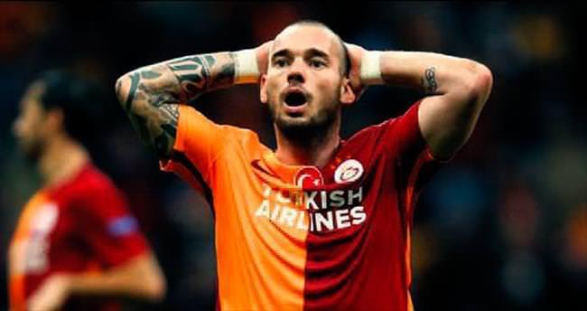 Sneijder yoksa sıkıntı büyük!