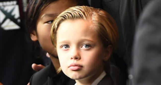 Angelina'nın kızı şaşırtmaya devam ediyor