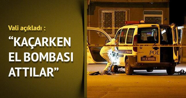 İzmir'de polise silahlı ve bombalı saldırı gerçekleştiren terörist yakalandı