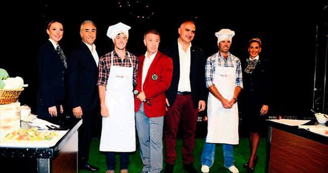 Golf sahasındaki kadar mutfakta da başarılılar