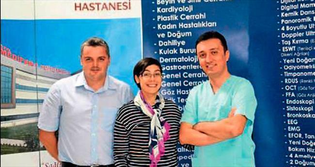 Türk doktorlarının tecrübesini gördü