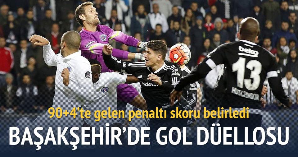 Başakşehir'de gol düellosu