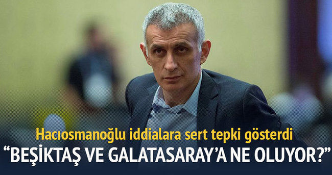 İbrahim Hacıosmanoğlu'ndan Beşiktaş ve Galatasaray'a tepki