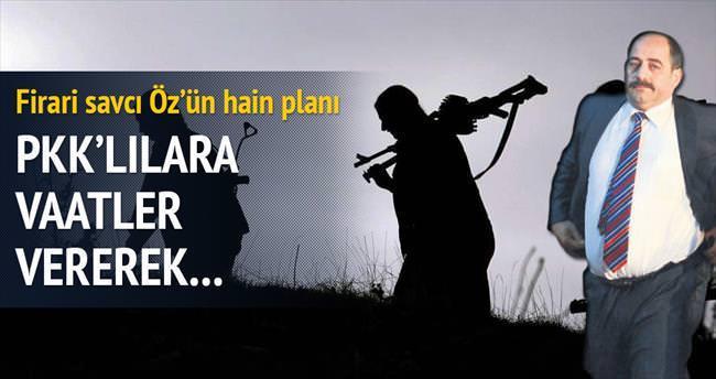 PKK'lılara, vaat vererek gizli tanıklık yaptırdı...