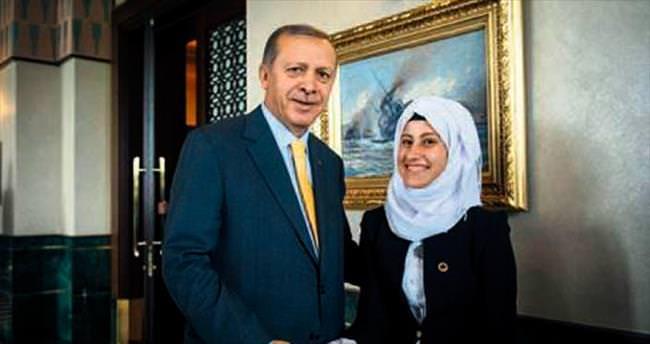 Erdoğan'la tanıştı hayali gerçek oldu