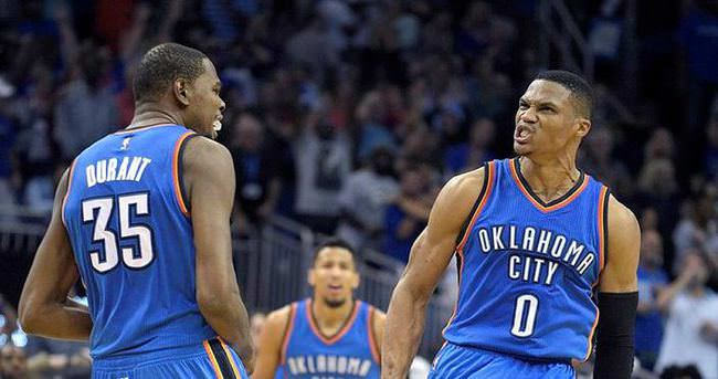 Westbrook ve Duran'tan 91 sayı