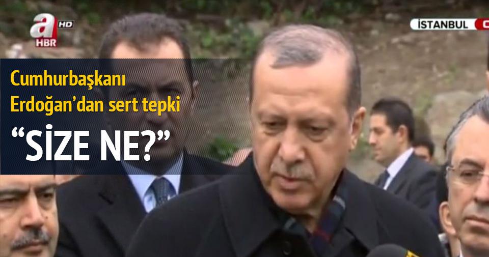 Erdoğan Fetih Camii'ni ziyaret etti