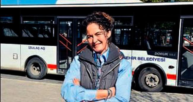 Belediyenin kadın şoförü fark yarattı