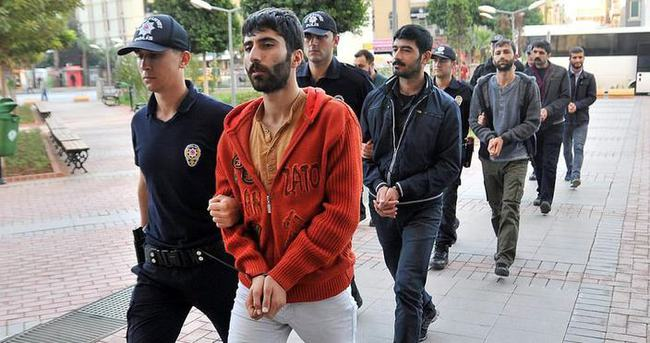 Provokatörler tutuklandı