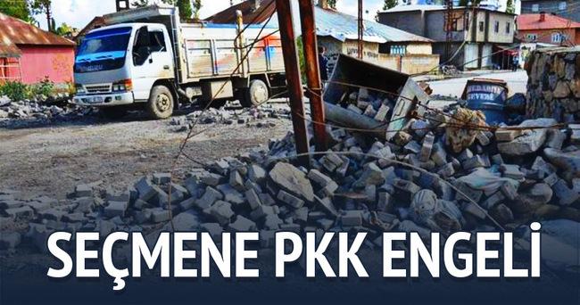 1 Kasım'da seçmene PKK engeli!