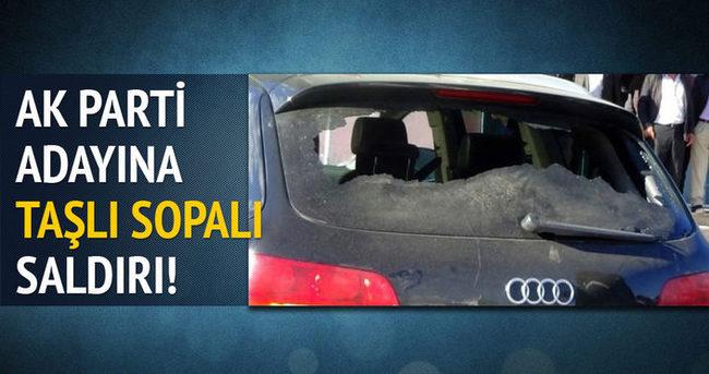 Iğdır'da AK Parti adayına saldırı!