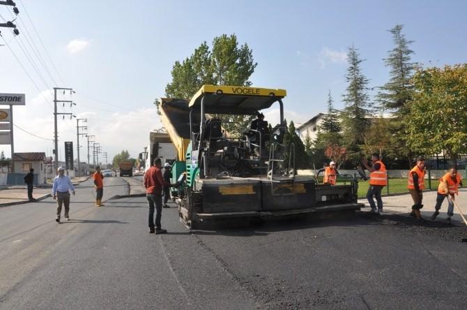 İzmit Mezbaha Caddesi Yenilendi