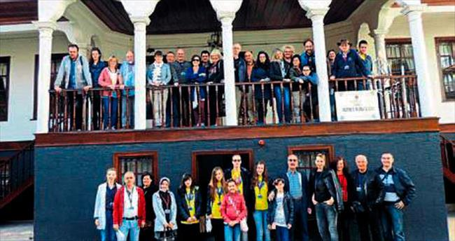 Kültürlerarası diyalogla Türk kültürünü öğrendiler