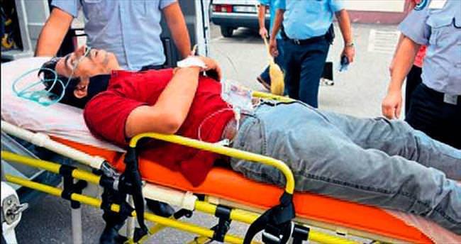 Sokakta yürürken sırtından vuruldu