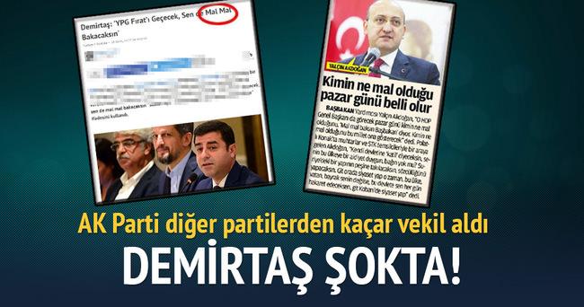 AK Parti hangi partiden kaç vekil aldı