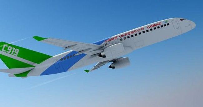Çin kendi uçağını da yaptı