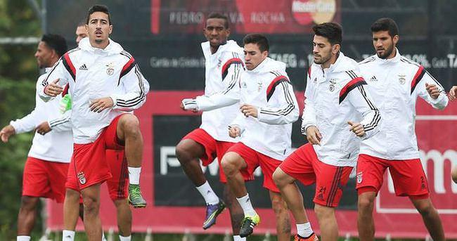 Galatasaray'ın rakibi Benfica'da 5 eksik