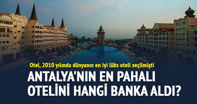 Mardan Palace'ı Halk Bankası satın aldı