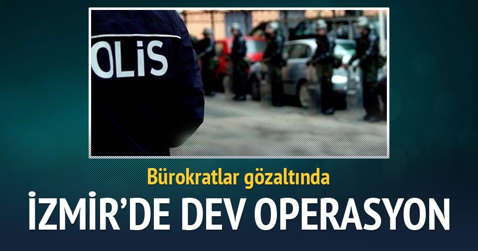 İzmir'de Paralel yapı operasyonu
