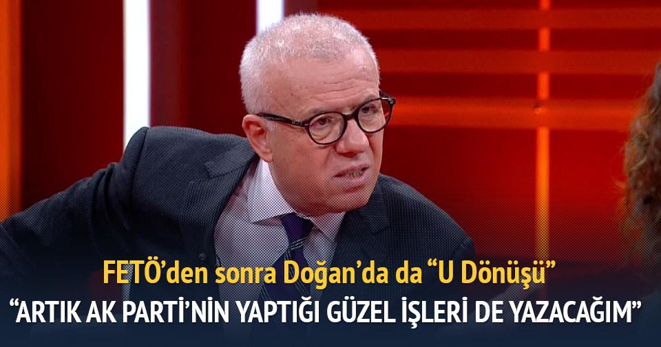 """FETÖ'den sonra Doğan'da da """"U Dönüşü"""""""