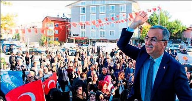 Burdur'da sevgi yürüyüşü yapıldı