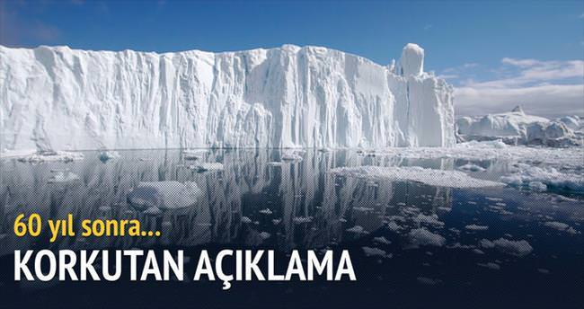 Buzulların erimesi geri döndürülemez