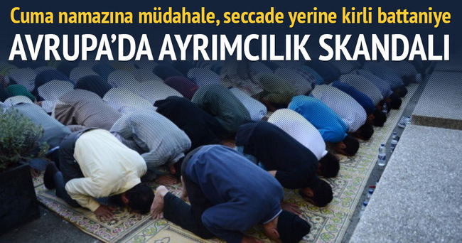 Müslüman mahkumlara ayrımcılık