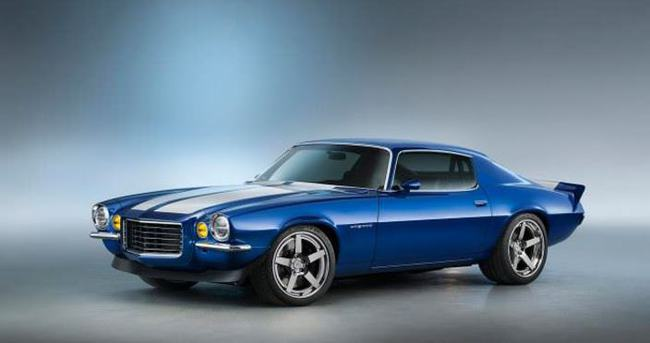 650 beygirlik 1970 Chevy Camaro