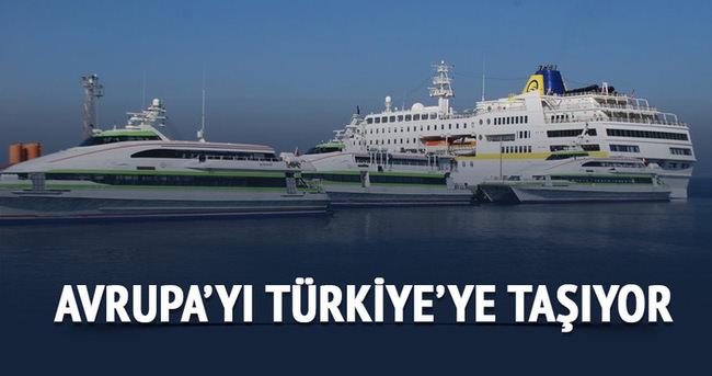 Avrupa'yı Türkiye'ye taşıyor