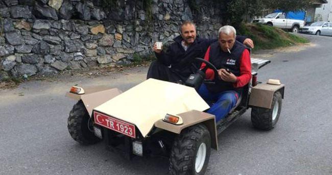 Sahibinden yerli otomobil, aranan babayiğit bulundu