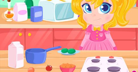 Yemek Yapan Çocuk