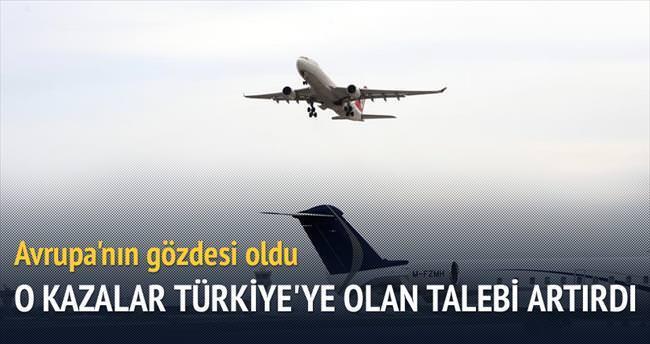 En gözde havacılık koridoru: Türkiye