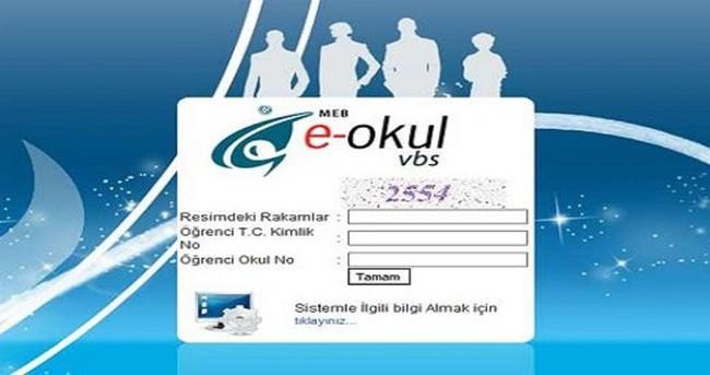 E-Okul girişi, veli bilgilendirme ve şifre alma işlemi