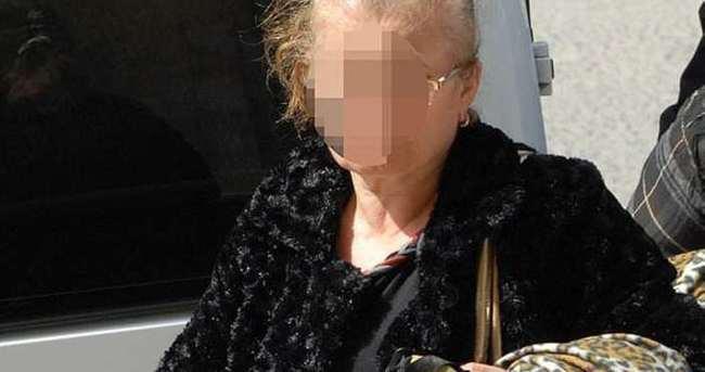 Hırsızlık zanlısı yaşlı kadın yakalandı