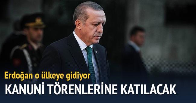 Erdoğan o ülkeye gidiyor