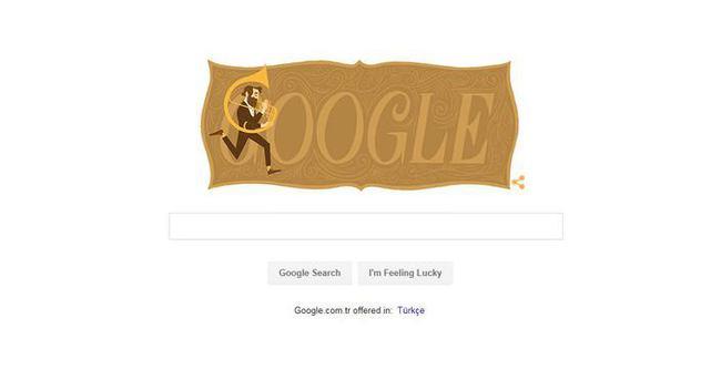 Google Adolphe Sax'ı Doodle yaptı! Adolphe Sax kimdir?