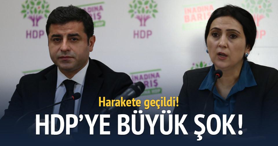 HDP'ye şok: Fezlekeler geliyor